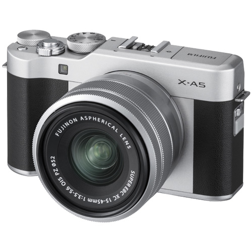 X-A5LK-S [ミラーレスデジタルカメラ X-A5 レンズキット シルバー]