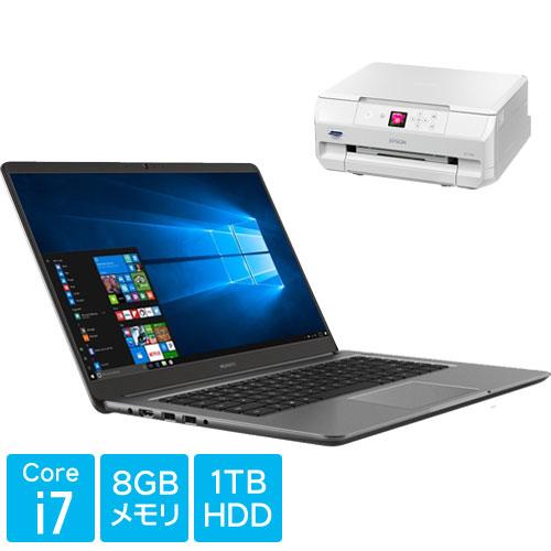 ★お得なエプソンプリンターCセット★PL-W29 [MateBook D (i7 8G 1TB 940MX Win10Home Grey 53019836)]