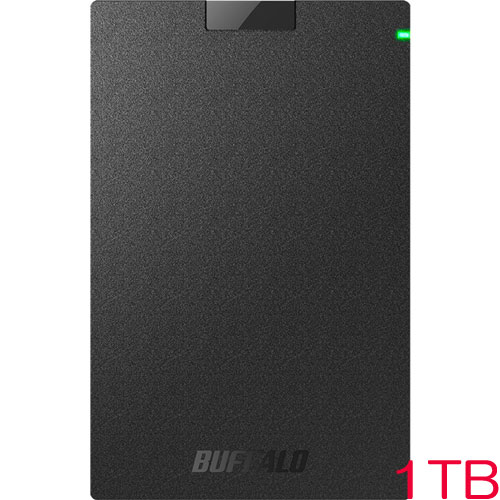 MiniStation HD-PCG1.0U3-BBA [USB3.1(Gen.1)対応 ポータブルHDD ブラック 1TB]