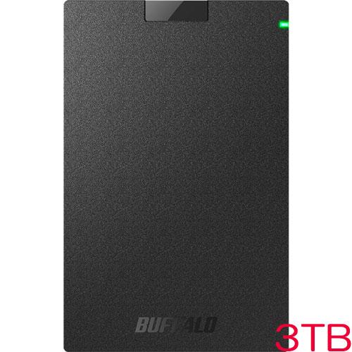 MiniStation HD-PCG3.0U3-GBA [USB3.1(Gen.1)対応 ポータブルHDD ブラック 3TB]