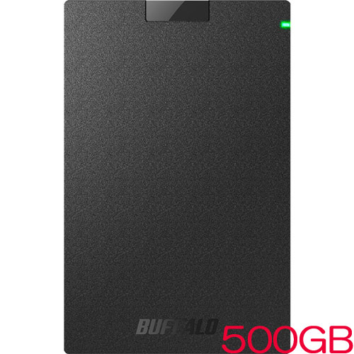 MiniStation HD-PCG500U3-BA [USB3.1(Gen.1)対応 ポータブルHDD ブラック 500GB]