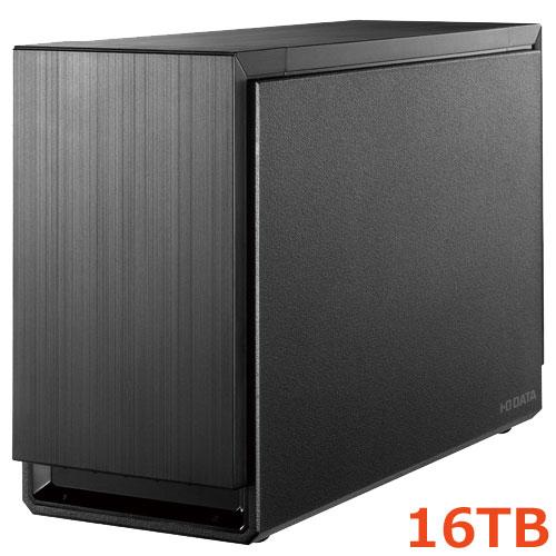 アイオーデータ HDS2-UTXS16/E [USB 3.1 Gen 1(USB 3.0)/eSATA対応 2ドライブ搭載 ハードディスク(RAIDモデル) 16TB]