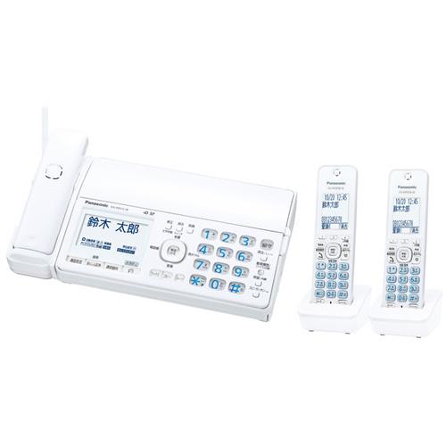 パナソニック おたっくす KX-PD515DW-W [デジタルコードレス普通紙FAX(子機2)(ホワイト)]