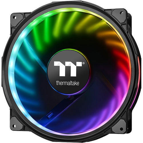Thermaltake CL-F070-PL20SW-A [Riing Plus 20 RGB Radiator Fan TT Premium Edition Single pack - No Controller -]