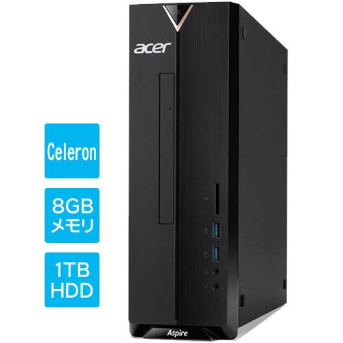 エイサー XC-830-N18F [Aspire XC-830(Cel 8GB 1TB DSM WLAN Win10H64)]
