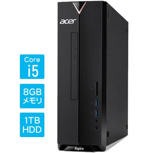 エイサー XC-885-N58F [Aspire XC-885(i5 8GB 1TB DSM WLAN Win10H64)]