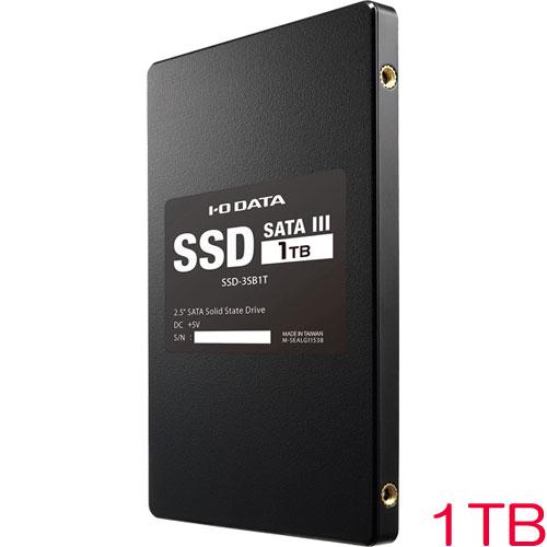 アイオーデータ SSD-3SB SSD-3SB1T [Serial ATA III対応 内蔵2.5インチSSD 1TB]