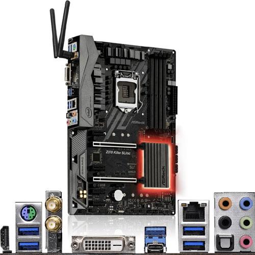 ASRock Z370 Killer SLI/ac [マザーボード Intel Z370/LGA1151/DDR4/USB Type-C/11ac/ATX/Thunderbolt AIC対応]