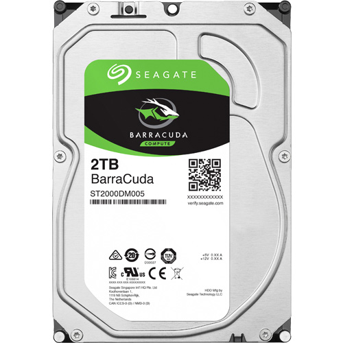 ST2000DM005 [BarraCuda(2TB 3.5インチ SATA 6G 256MB)]