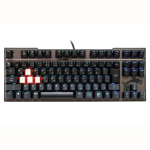 MSI Computer Vigor GK70 CS JP [ゲーミングキーボード VIGOR GK70 SILVER 日本語 Cherry MX RGB Speed シルバー軸]