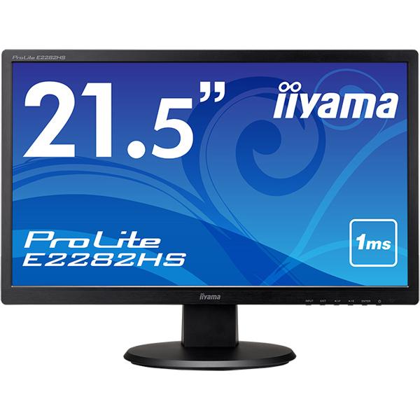 イーヤマ ProLite E2282HS-B1 [21.5型ワイド液晶ディスプレイ E2282HS ブラック]