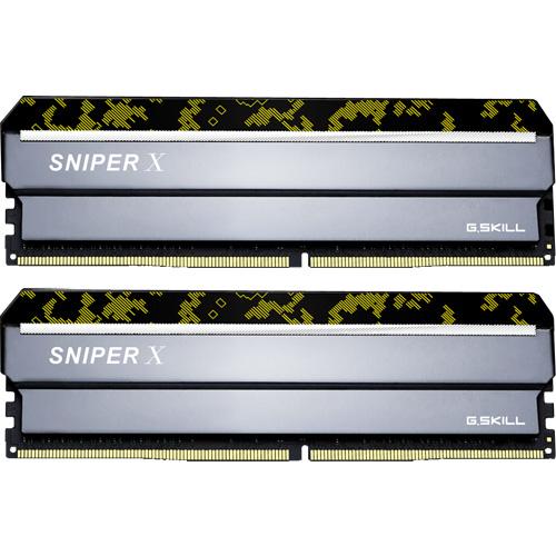 F4-3600C19D-32GSXKB [Sniper X 32GB (16GBx2) DDR4 3600Mhz (PC4-28800) CL19 1.35V Digital Camo]