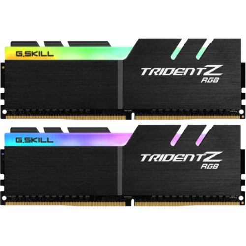G.SKILL F4-2400C15D-16GTZR [Trident Z RGB 16GB (8GBx2) DDR4 2400Mhz (PC4-19200) 1.20V XMP 2.0]