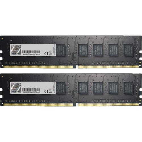 G.SKILL F4-2666C19D-16GNT [Value 16GB (8GBx2) DDR4 2666Mhz (PC4-21300) CL19 1.20V U-DIMM]