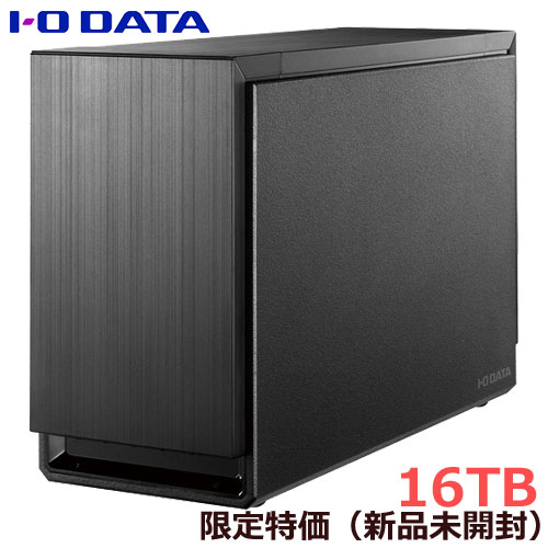 アイオーデータ ★限定特価★HDS2-UTXS16/E [USB 3.1 Gen 1/eSATA対応 2ドライブ搭載 ハードディスク(RAIDモデル) 16TB]