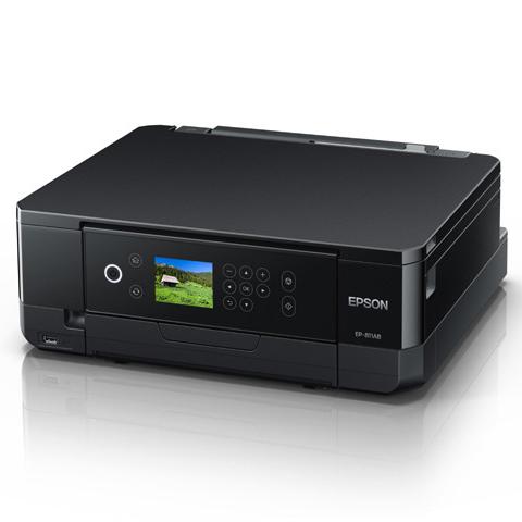 EP-811AB [A4 IJプリンター/多機能/Wi-Fi/2.7型/ブラック]