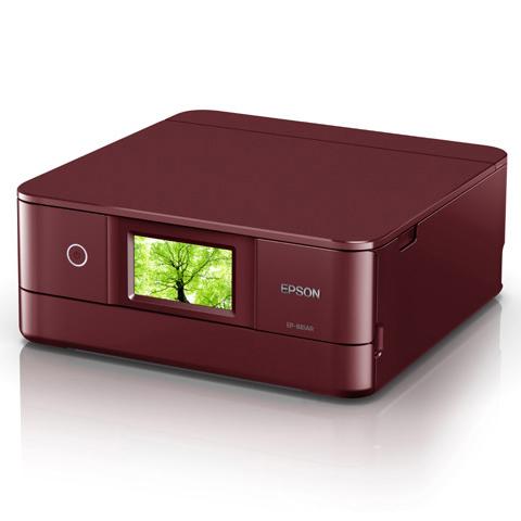 EP-881AR [A4 IJプリンター/多機能/Wi-Fi/4.3W/レッド]