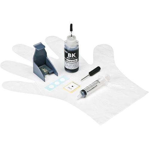 サンワサプライ INK-H61B30S [詰め替えインク(hp61シリーズ用・30ml・顔料ブラック)]