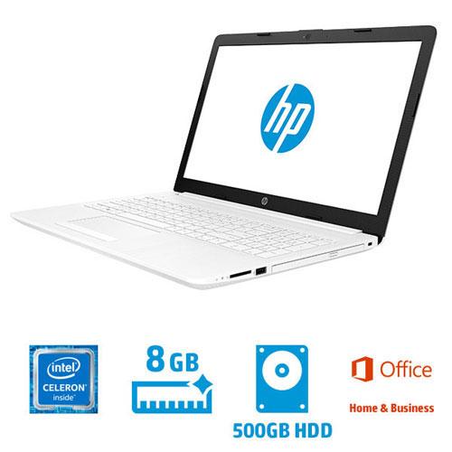 HP ★マウス付!★4QM55PA-AAAB [HP 15-da G1モデル(Celeron 8GB 500GB DSM 15.6 H&B2016 W10H64)]
