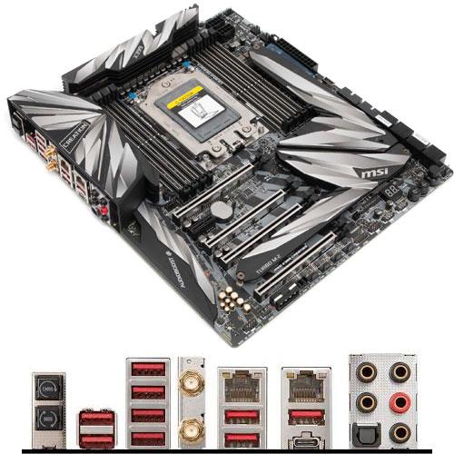 MSI Computer MEG X399 CREATION [マザーボード AMD X399/Socket TR4/DDR4/USB 3.1 Type-C/GbE×2/E-ATX]
