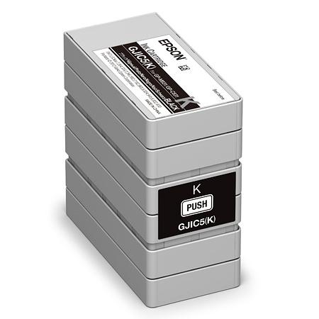エプソン GJIC5K [ラベルプリンター用 インクカートリッジ(ブラック)]