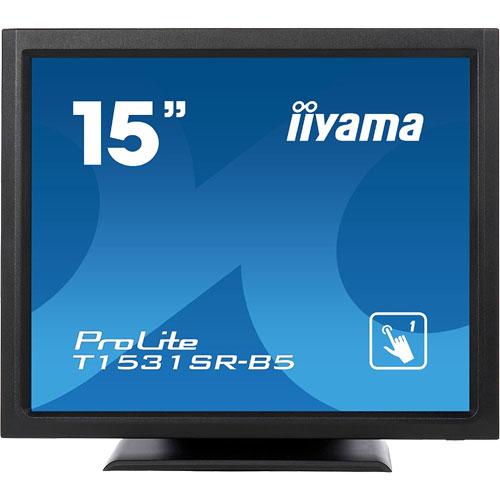イーヤマ ProLite T1531SR-B5 [15型タッチパネル液晶ディスプレイ T1531SR-5 ブラック]