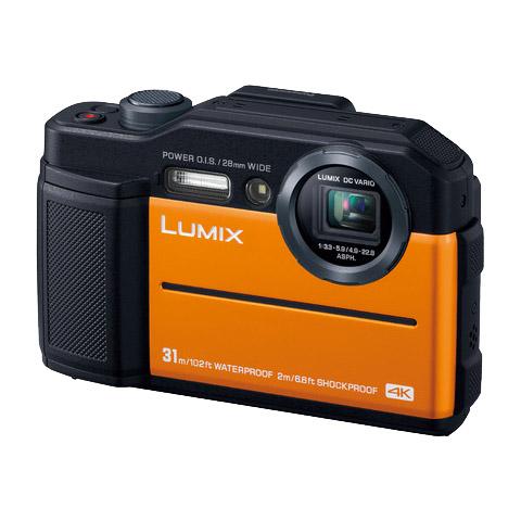 LUMIX(ルミックス) DC-FT7-D [デジタルカメラ LUMIX TZ90 (オレンジ)]
