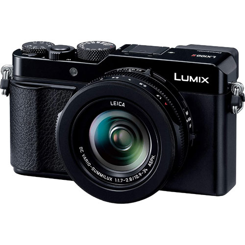 パナソニック LUMIX(ルミックス) DC-LX100M2 [デジタルカメラ LUMIX LX100 II (ブラック)]
