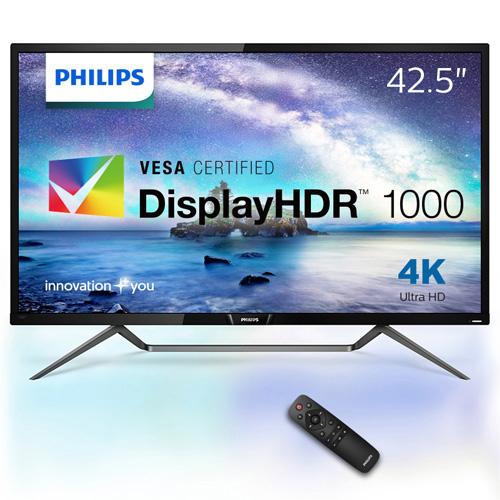 フィリップス(ディスプレイ) 436M6VBPAB/11 [42.5型 4K DisplayHDR1000対応 MVA液晶ディスプレイ]