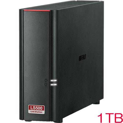 LinkStation LS510D0101G [リンクステーション ネットワークHDD 高速 1TB]