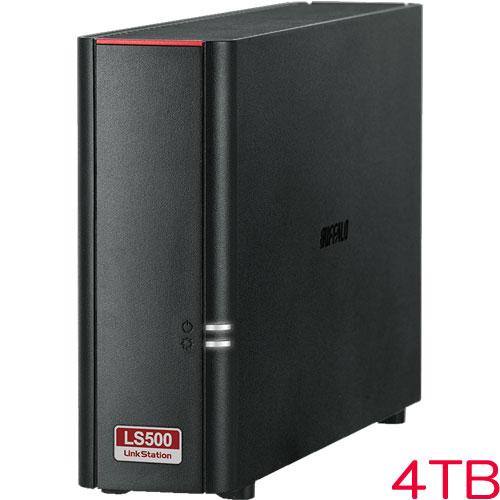 LinkStation LS510D0401G [リンクステーション ネットワークHDD 高速 4TB]
