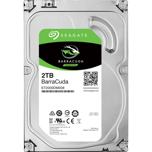 ST2000DM008 [BarraCuda(2TB 3.5インチ SATA 6G 256MB)]