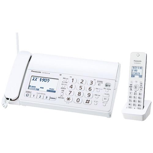 パナソニック おたっくす KX-PD215DL-W [デジタルコードレス普通紙FAX(子機1台)(ホワイト)]