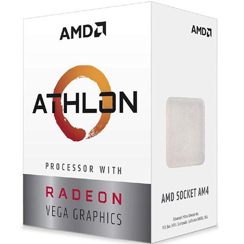 AMD YD200GC6FBBOX [Athlon 200GE APU (2コア/3.2GHz/Radeon Vega 3/TDP 35W/Socket AM4) with Cooler]
