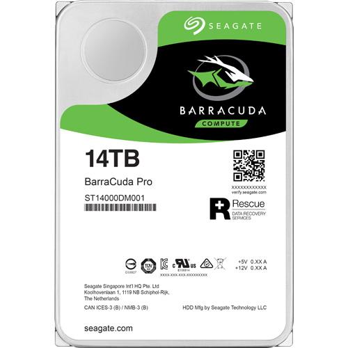 ST14000DM001 [BarraCuda Pro(14TB HDD 3.5インチ SATA 6G 7200rpm 256MB)]