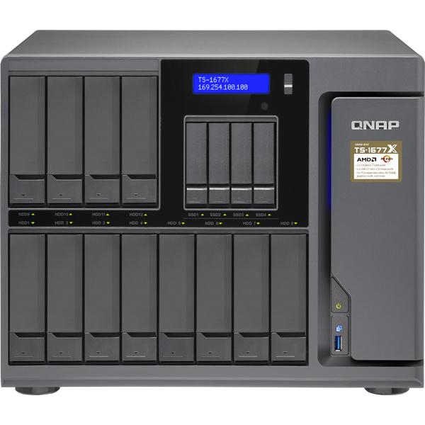 QNAP QNAP NAS T1677XN8012 [TS-1677X 8コア 96TB (NL 8TBx12)]