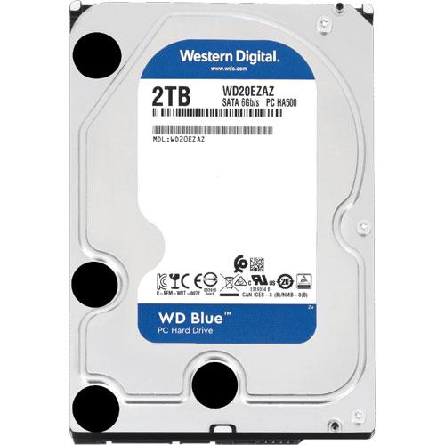 ウエスタンデジタル WD20EZAZ [WD Blue(2TB 3.5インチ SATA 6G 5400rpm 256MB)]