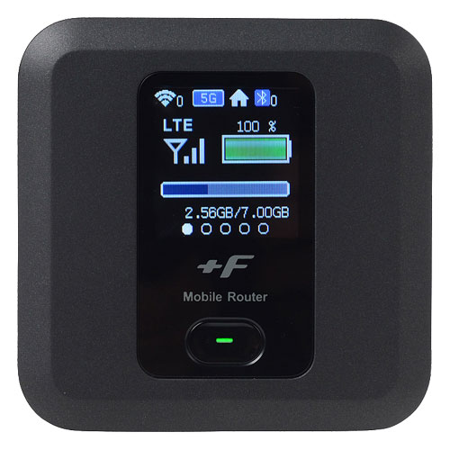 富士ソフト FS030WMB1 [SIMフリー WiFiルータ +F FS030W]
