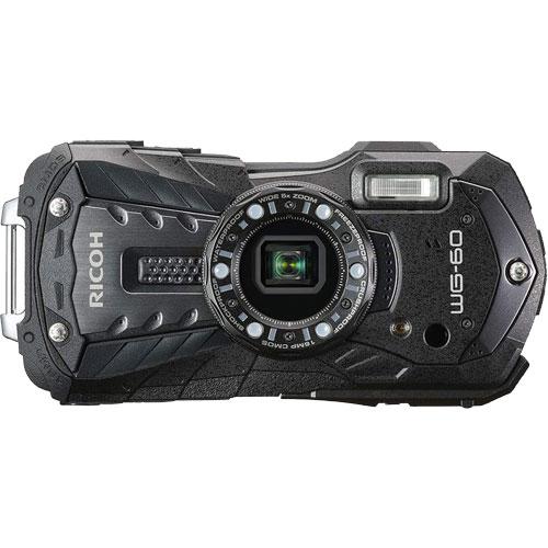 WG-60BK [防水デジタルカメラ WG-60 (ブラック)]