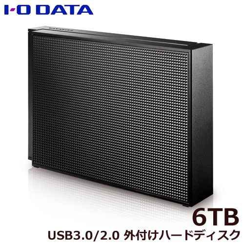 HDCZ-UTL6K/E [USB 3.1 Gen 1(USB 3.0)/2.0対応 外付ハードディスク 6TB]