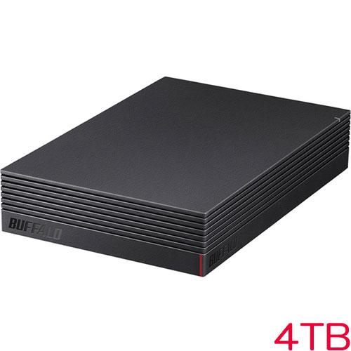HD-LDS4.0U3-BA [USB3.1 みまもり合図 外付HDD 4TB ブラック]