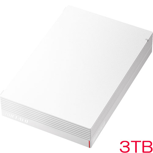 HD-LDS3.0U3-WA [USB3.1 みまもり合図 外付HDD 3TB ホワイト]