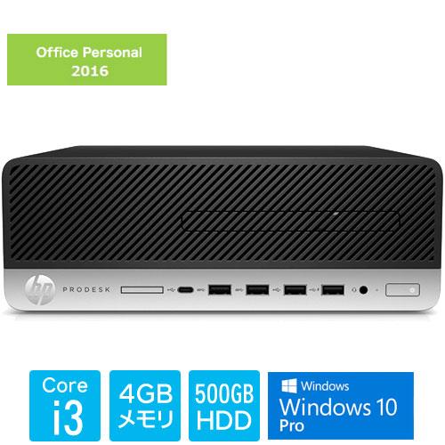 HP 5XB40PA#ABJ [ProDesk600G4 SF i3-8100 4 500 W10P O2K16]
