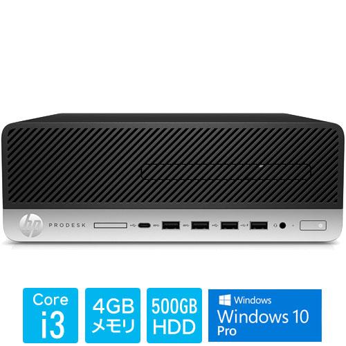 HP 5XB53PA#ABJ [ProDesk600G4 SF(i3-8100 4 500 W10P)]