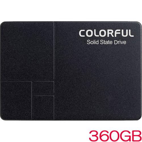 SL500 360G [360GB SSD 2.5インチ 7mm、SATA 6Gb、Intel 3D TLC、SMI SM2258XT、キャッシュレス、3年保証]