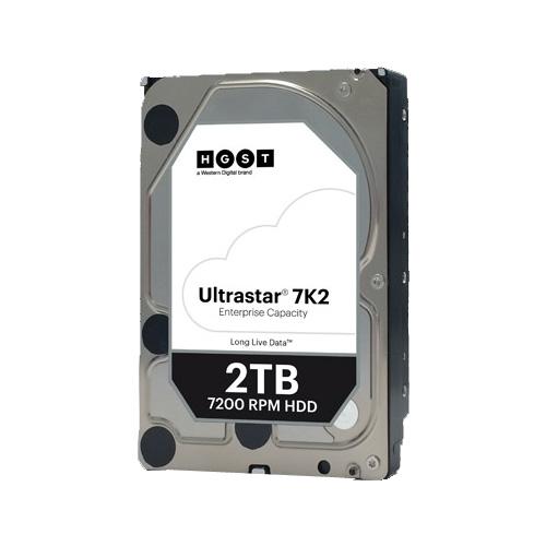 ウエスタンデジタル HUS722T2TALA604 [Ultrastar DC HA210 (2TB 3.5インチ SATA 6G 7200rpm 128MB) (旧HGST Ultrastar 7K2)]