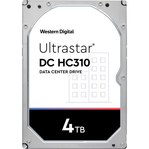 ウエスタンデジタル HUS726T4TALA6L4 [Ultrastar DC HC310 (4TB 3.5インチ SATA6G 7200rpm 256MB 512n)(旧HGST Ultrastar 7K6)]
