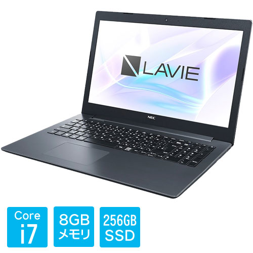 PC-SN187GDAD-C [LAVIE Smart NS(i7-8550U 8GB SSD256GB DVD 15.6 FHD Win10 BK)]