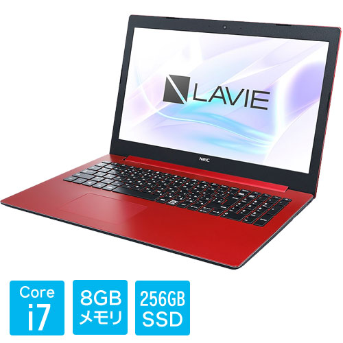 PC-SN187HDAD-C [LAVIE Smart NS(i7-8550U 8GB SSD256GB DVD 15.6 FHD Win10 RD)]