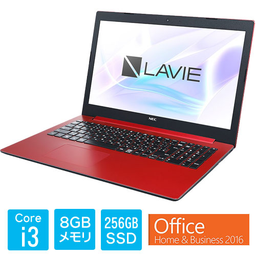 PC-SN232HDAD-D [LAVIE Smart NS(i3-7020U 8GB SSD256GB DVD 15.6 FHD Win10 H&B2016 RD)]